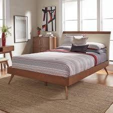 Eastern King Platform Bed by Homesullivan Holbrook Chestnut King Platform Bed 401915nk 1ekb