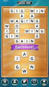 Word Cross Level 468 FunGamesArena