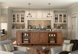 Mid Continent Cabinets Tampa Florida by Antique White Cabinets Kitchen Transitional With Glass Front