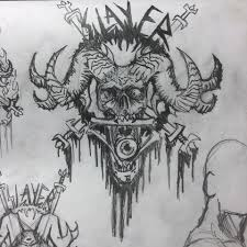 Slayer Tattoos Z Rhett Akers Slayer Concept