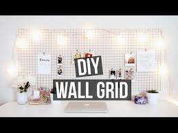 DIY WALL GRID