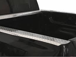 willmore diamond plate bed rail caps aluminum truck protectors