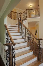 17 Decorative Wrought Iron Railings For Any Style Home Wrought Iron Stair Railing Idea John Robinson House Decor Exterior Handrail Including Light Blue Wood Siding Ornamental Wrought Iron Railings Designs Beautifying With Interior That Revive The Railings Process And Design Best 25 Stairs Ideas On Pinterest Gates Stair Railing Spindles Oil Rubbed Balusters Restained Post Handrail Photos Freestanding Spindles Installing