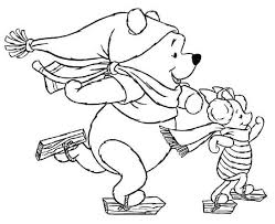 Kids Printable Disney Christmas Coloring Pages Free Online G1O1Z