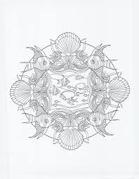 Coloring Books Animal Mandala