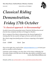 Demonstration And A Clinic, New Barn, Cheshire | Charlotte Wittbom ... Mortons Neuroma Cosurgery At The Barn Clinic Build A That Works Expert Howto For English Riders Youtube Photos Hyntle On Twitter Latest Article By Resident Pt Tour Noahs Ark Chiropractic Stock Show University Schedule About Kern Road Veterinary Best 25 Healthcare Design Ideas Pinterest Childrens Organizer Posters Schleese My Sleich Vet Clinic My Barn Owner Toasty Bagel New Caan Plant Sale Cultations Children S
