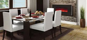 Contemporary Electric Wall Fireplaces