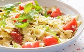 recette salade de pâte au surimi pas chère et simple cuisine