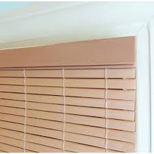 PVC Window Blind Shade Woodgrain Walmart