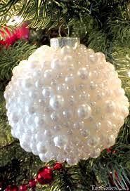 Rice Krispie Christmas Tree Ornaments by Pearl Christmas Tree Ornaments Two Sisters Crafting