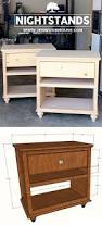 6 Drawer Dresser Plans by How To Build Diy Nightstand Bedside Tables Nightstands Diy