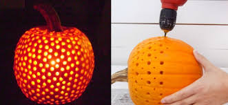 Pumpkin Carving With Drill by Five Easy Pumpkin Carving Ideas For Halloween