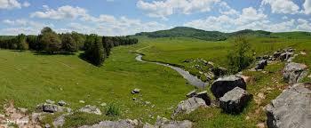 gandy creek landscape west virginia explorer