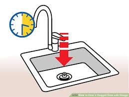 Unclogging A Bathtub Drain With Vinegar by How To Clear A Clogged Drain With Vinegar 10 Steps