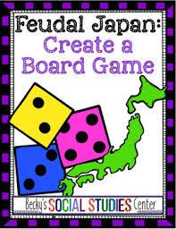 Feudal Japan Create A Board Game