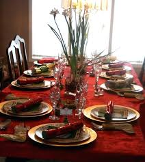 Christmas Dinner Table Decorations Dining Room Contemporary Set Ideas For Modern
