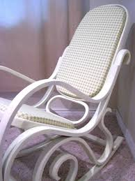 Vintage Banana Rocking Chair by Made By Me Shared With You Nursery Decor Bentwood Rocker Refinish