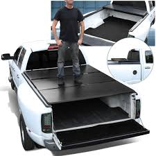 100 F 150 Truck Bed Cover DNA Motoring Or 20042018 Ord 55t Short Aluminum Rame