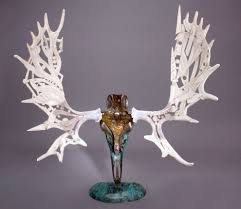 Moose Shed Antler Forums by If I Wanted A Detailed Moose Antler The Left One Antler