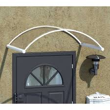 Palram Feria Patio Cover by Palram Orion 1350 Door Entry Way Cover Attractive Arched Robust Design