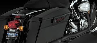 vance hines power duals black headpipes exhaust harley 95 08