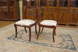 Traditional Duncan Phyfe Dining Chairs Empire Style