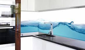 beleuchtete küchenrückwand aus glas plana küchenland