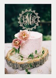 Beautifully Detailed Wood Cake Toppers By Best Wedd Ever