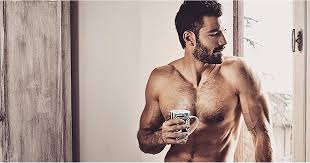 Hot Men Drinking Coffee Instagram