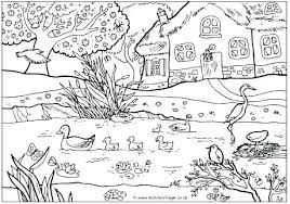 Top Rated Spring Coloring Pages Free Printable Images