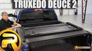 Truxedo Bed Cover by How To Install Truxedo Deuce 2 Tonneau Cover Youtube