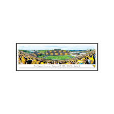 Pumpkin Patches In Milton Wv by West Virginia Mountaineers Football Stadium 50 Yard Line Framed