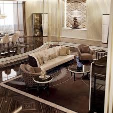 Modern Design High Gloss Coffee Table Fiber Glass White Living Room