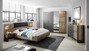 places of style schlafzimmer set malthe set 5 tlg 2 nachtkonsolen inkl beleuchtung bett mit liegefläche 160x200 cm kleiderschrank mit 4