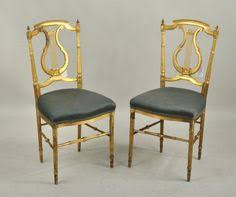 Lyre Back Chairs History by Lyre Back Chair In French Linen Chalk Paint By Paisleyandlime