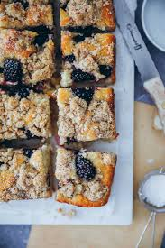 brombeer streusel kuchen blackberry streusel small batch cake