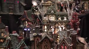 Dept 56 Halloween Village by Department 56 Halloween Display 2009