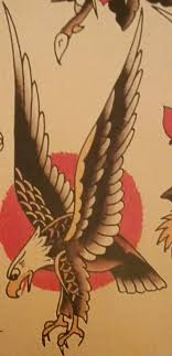 Traditional Old School Tattoo Sailor Jerry Eagle Bird