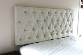 Diamond Tufted Headboard With Crystal Buttons by Black Tufted Headboard Bed Black Tufted Bed With Light Gray