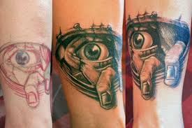Arm Eye Tattoo By Nautilus Gallery