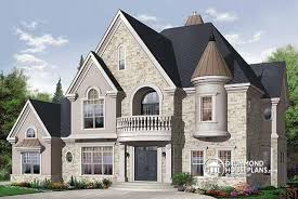 Spacious House Plans by House Plan W3842 Detail From Drummondhouseplans