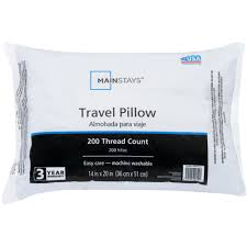 Decorative Couch Pillows Walmart by Mainstays 100 Percent Polyester Travel Pillow 14