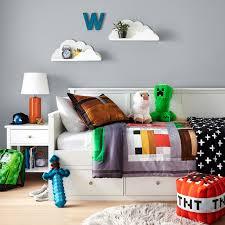 minecraft bedroom collection minimalistisch