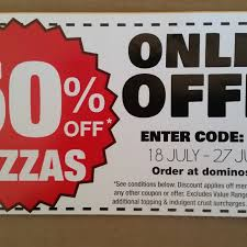 Domino's - Online Offer - 50% Off Pizzas 18-27 Jul Selected ... Online Vouchers For Dominos Cheap Grocery List One Dominos Coupons Delivery Qld American Tradition Cookie Coupon Codes Home Facebook Argos Coupon Code 2018 Terms And Cditions Code Fba02 Free Half Pizza 25 Jun 2014 50 Off Pizzas Pizza Jan Spider Deals Sorry To Interrupt But We Just Want Free Promo Promotion Saxx Underwear Bucs Score Menu Price Monday Malaysia Buy 1 Codes