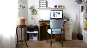 chambre et un bureau déco meubles idées astuces conseils côté maison