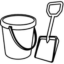 Index Of Cdn Sandbucketandshovelcoloringpagejpg Shovel Clipart Template