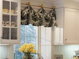 Curtains Modern Kitchen And Valances Ideas Curtain Pertaining To