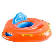decathlon siege bb swim seat nabaiji orange decathlon