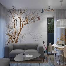 nach 3d tapete wandbild wasser messer holz vogel stein muster hintergrund wand wohnzimmer schlafzimmer dekoration wandbild
