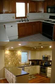 Full Size Of Kitchen Remodelskirted Old Cabinets Paint Your Own Mobile